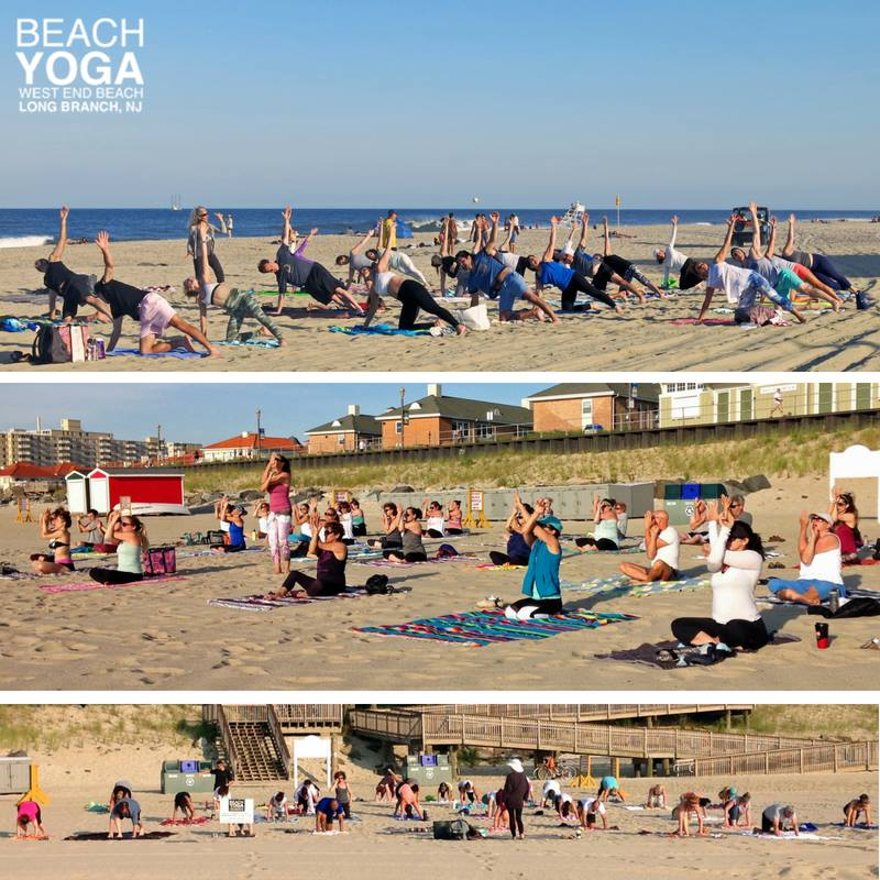 WE beach yoga